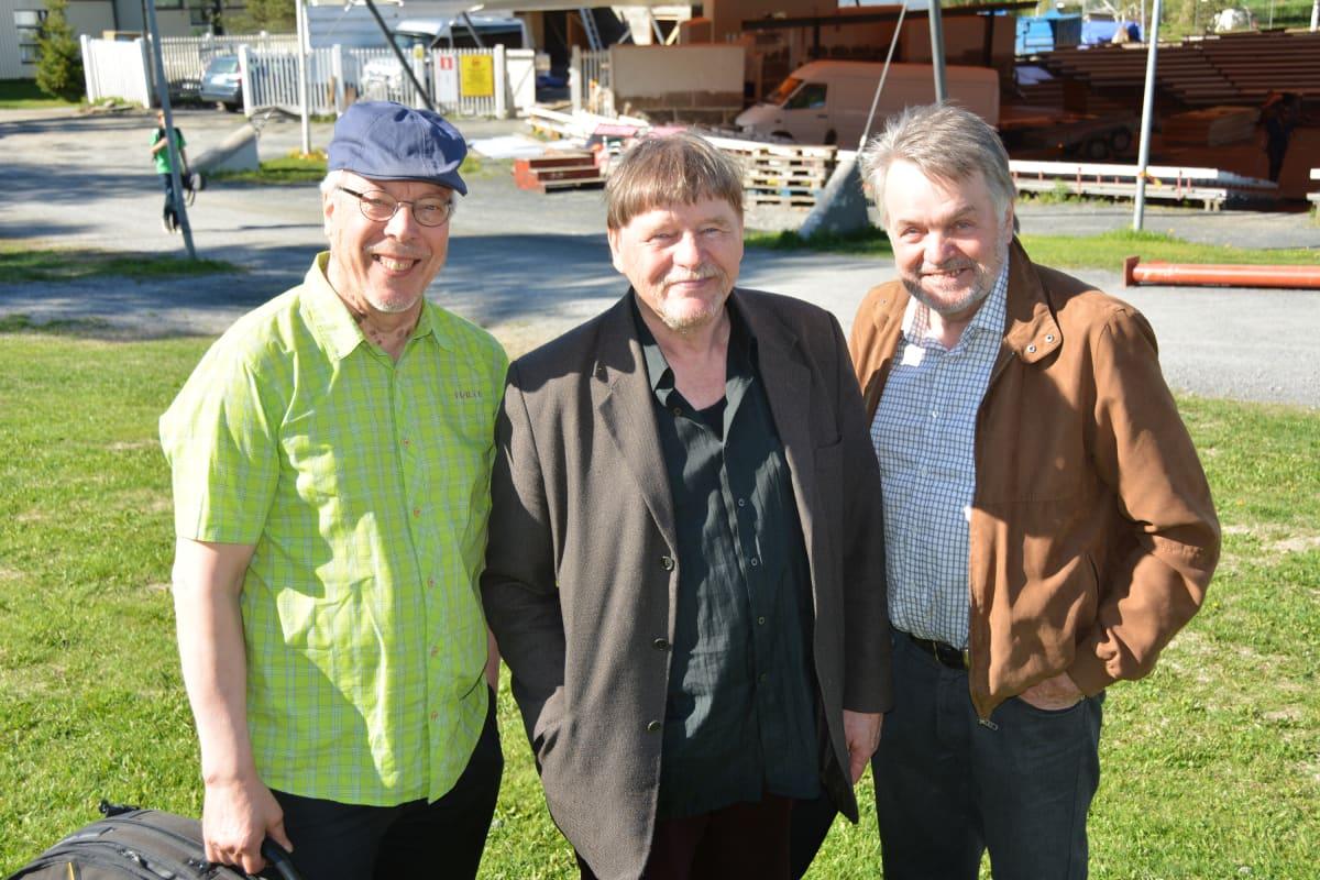Mauno Järvelä, Timo Valo ja Kimmo Anttila.