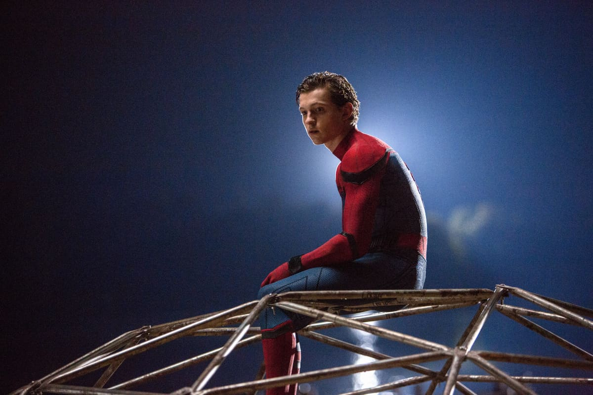 Tom Holland. Spider-Man: Homecoming.