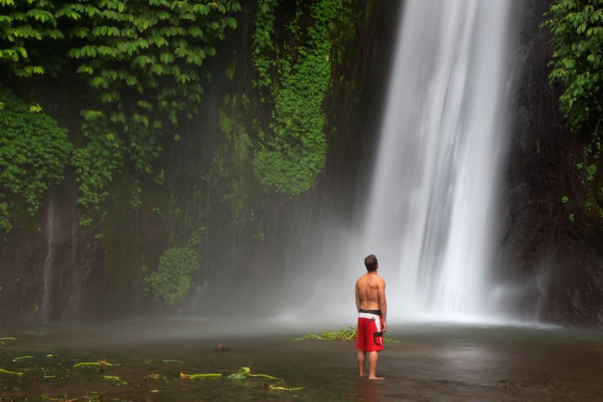 Vesiputous Mundukissa, Balilla.