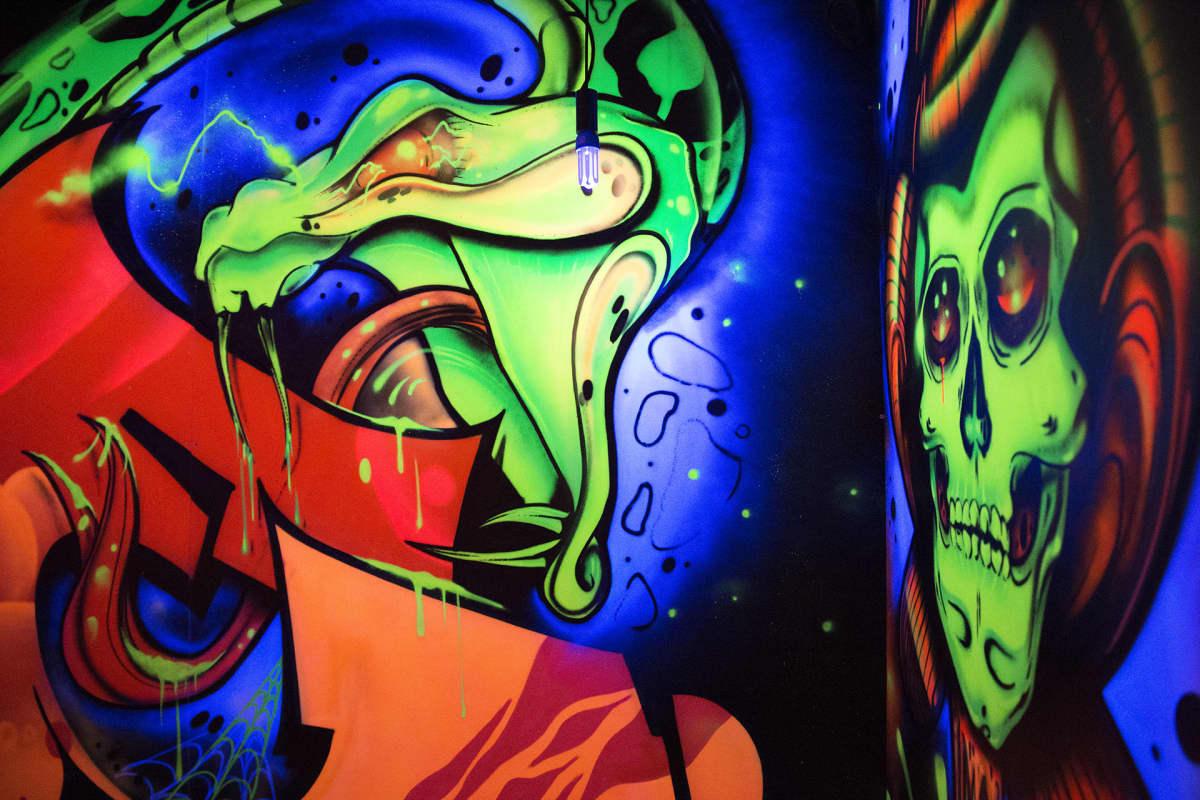Sinkka, Graffititaide