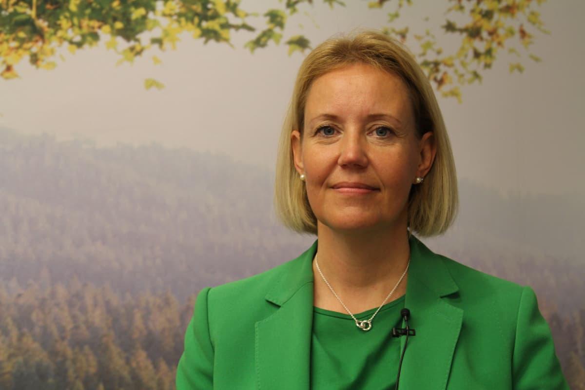 Terveystalon henkilöstöjohtaja Johanna Karppi.