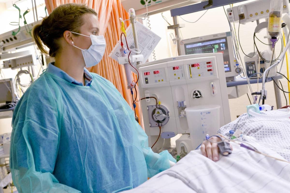 saksalainen sairaanhoitaja