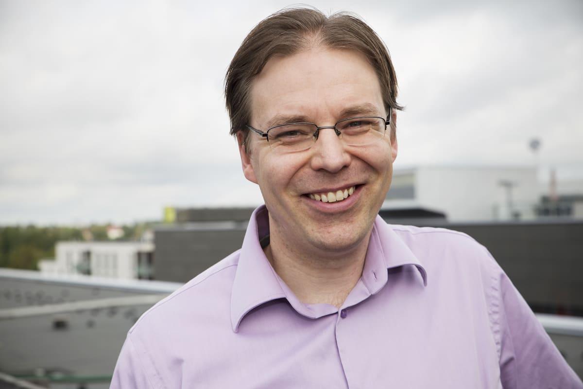 Avaruustutkija Ilkka Sillanpää.