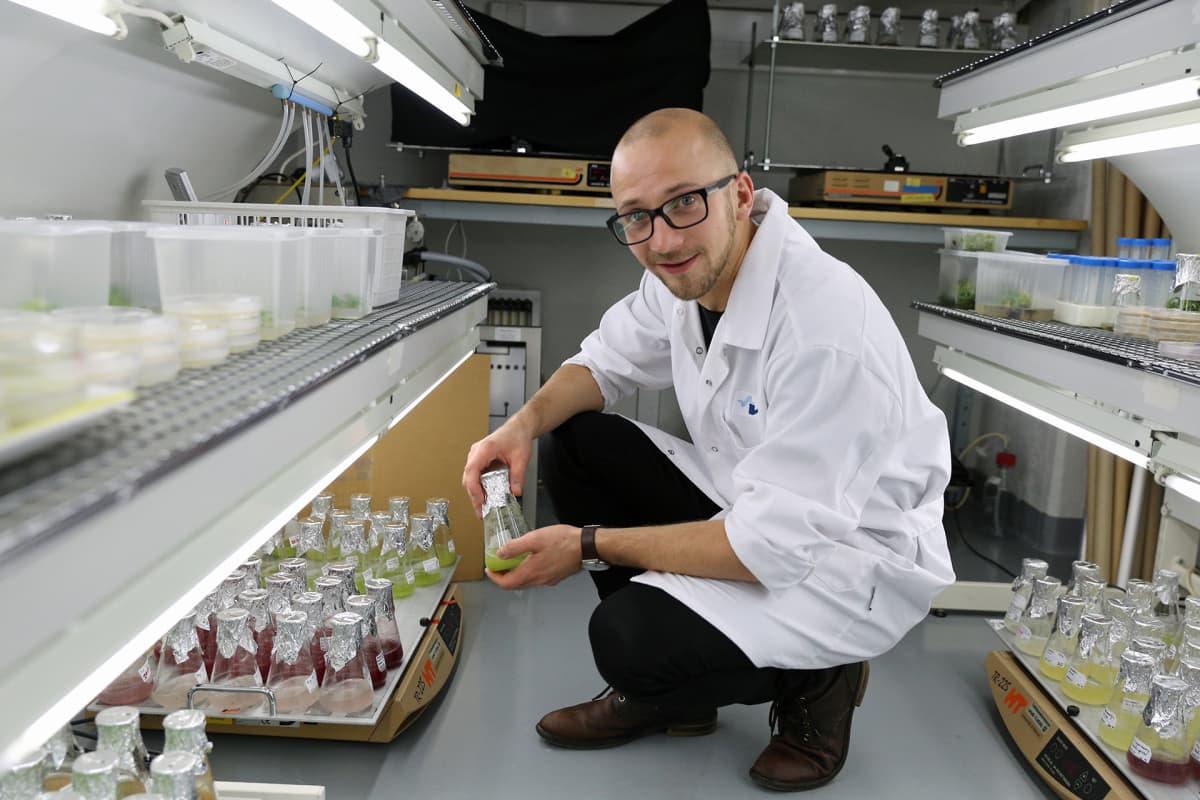 Lauri Reuter, tutkija VTT.