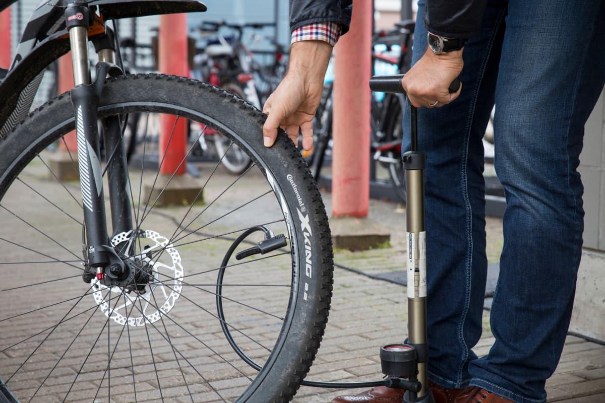 polkupyörän sisäkumin hinta