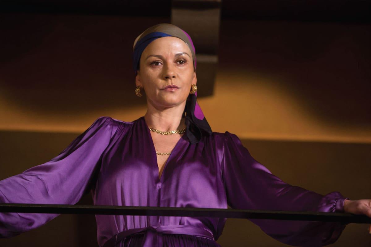 Näyttelijä Catherine Zeta-Jones.