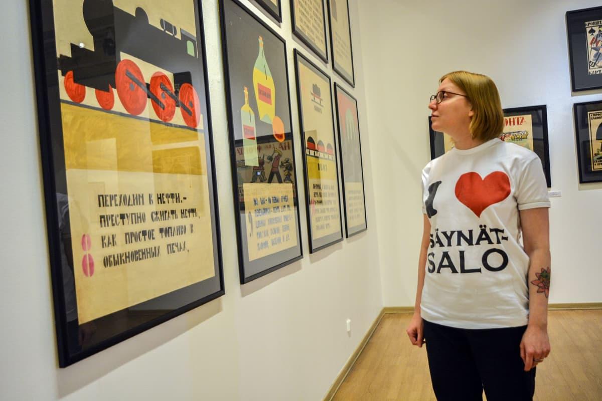 Propagandataide, juliste, Venäläisen taiteen museo