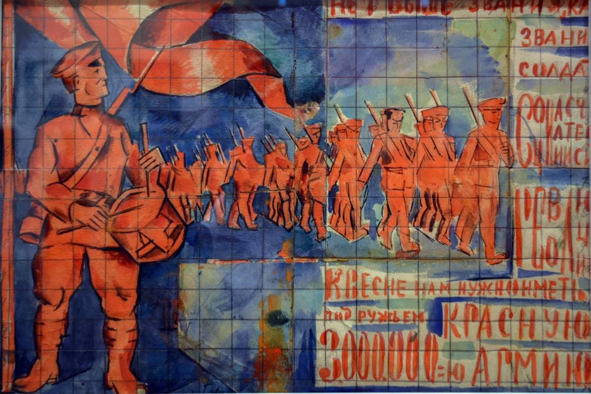 Vladimir Baranoff-Rossinen teos, Venäläisen taiteen museo