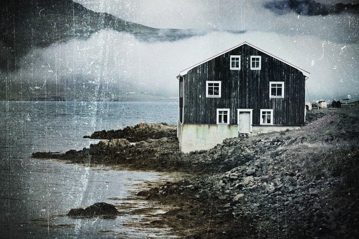 Muokattu kuva, Islanti