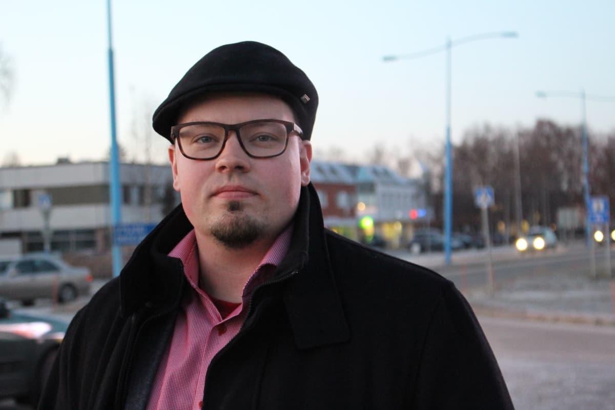 Inarin kunnanjohtaja Toni K. Laine