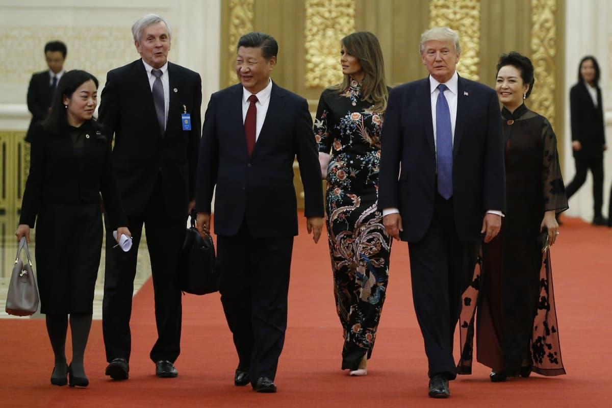 Kiinan ja Yhdysvaltain presidenttiparit