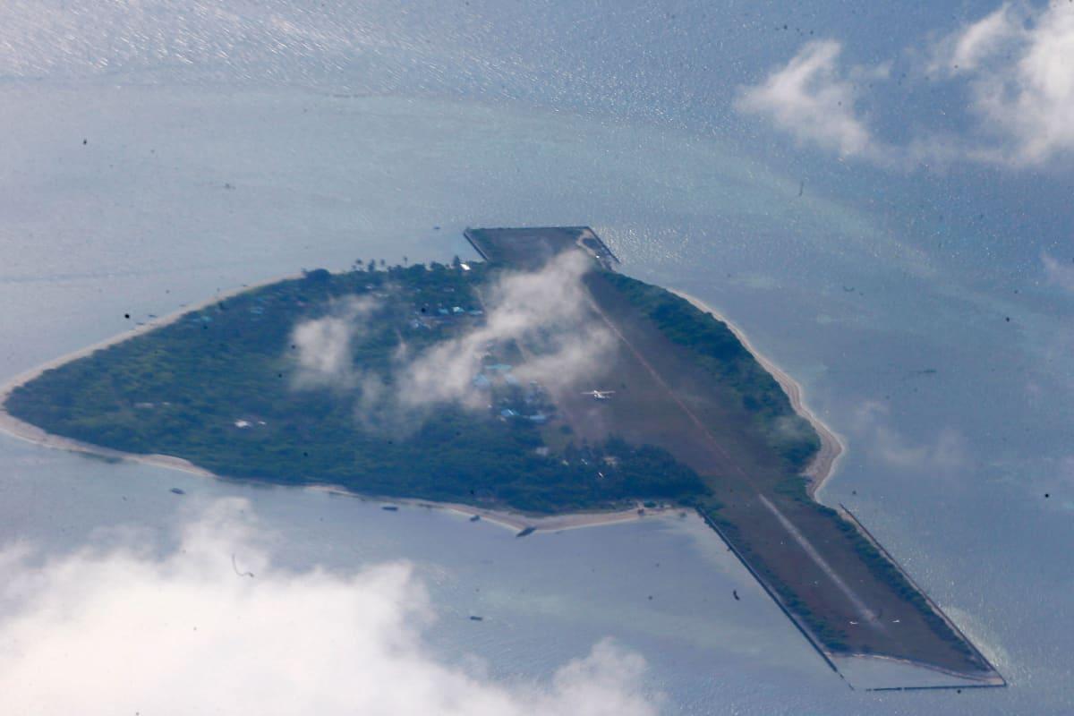 Pagasan saari Spratlyn saariryhmässä.