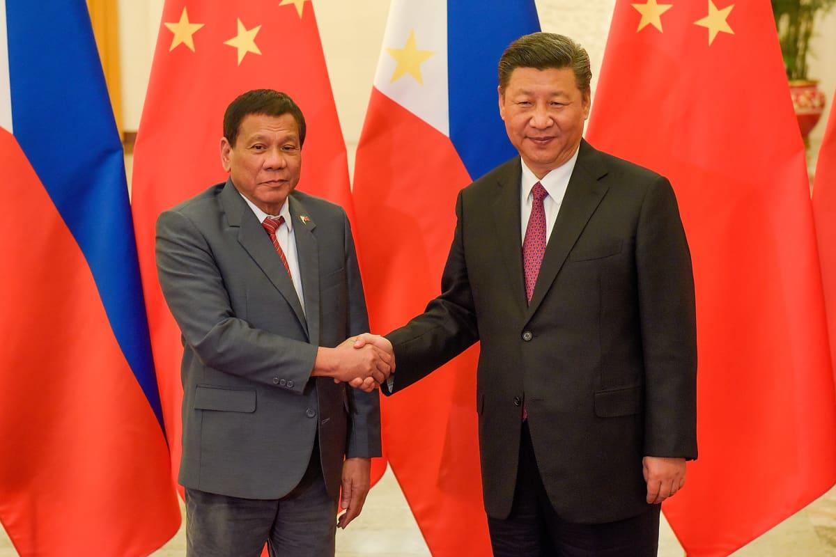 Duterte ja Xi