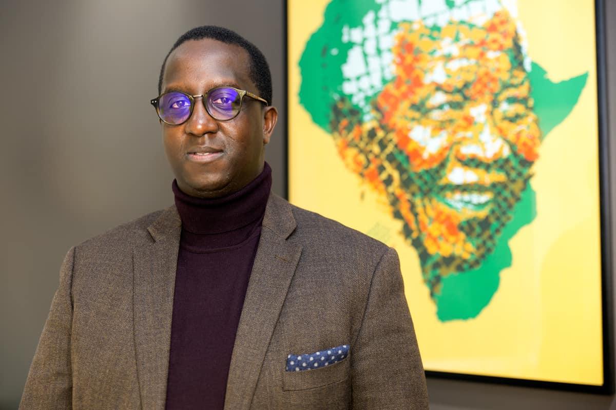 Afrikka-tiimin johtaja, CMI Itonde A. Kakoma.