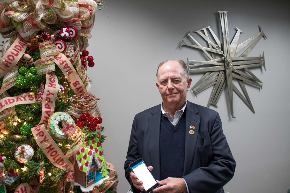 David Blackin kehittämä 2ndVote -sovellus antaa konservatiivisia ostosvinkkejä joulumarkkinoille.