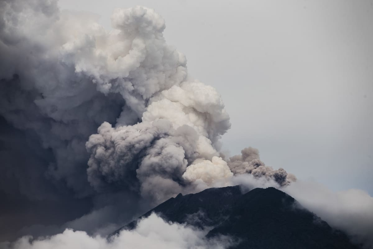 Balin Agung-tulivuori.