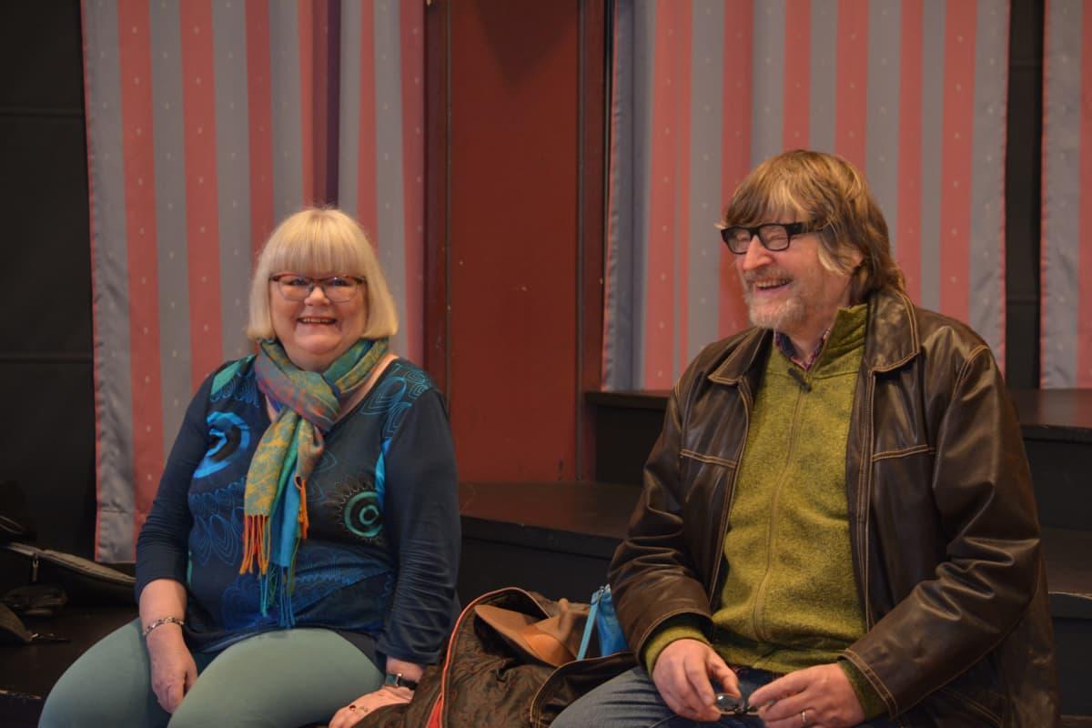 Ritva-Leena Heikkinen ja Jaakko Muilu