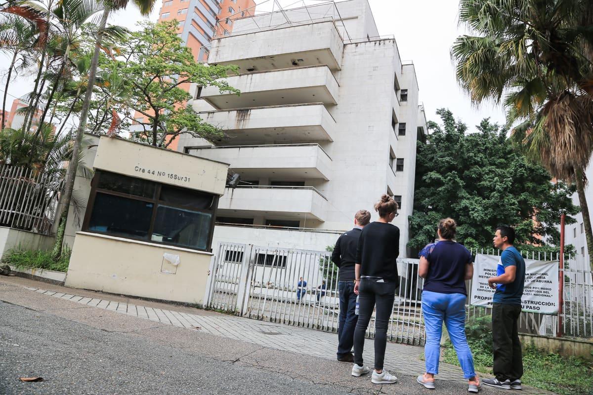 Pablo Escobar rakennutti Mónacon yhdeksi perheensä lukuisista kodeista.