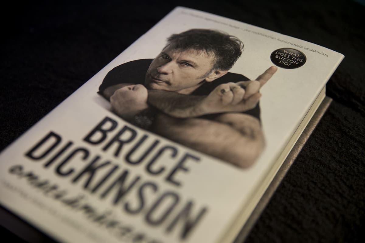 Bruce Dickinson, omaelämäkerta
