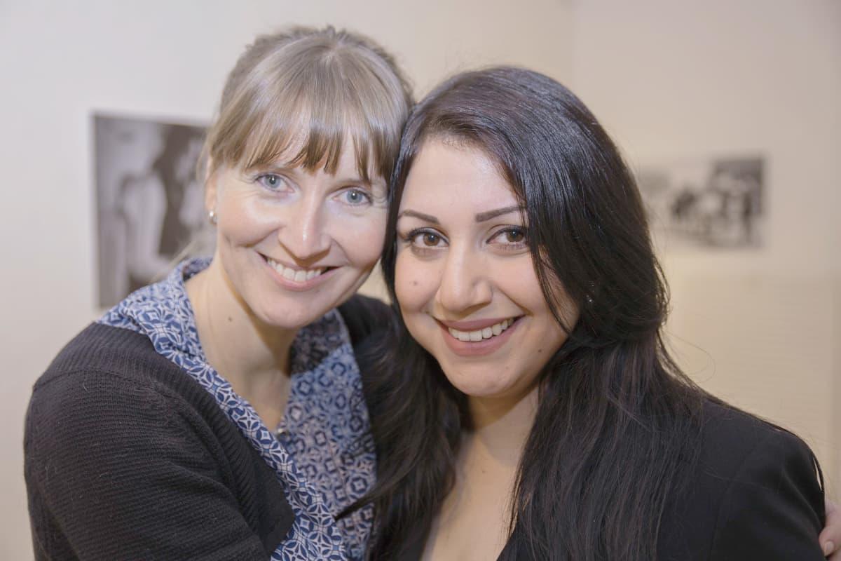Karoliina Ek ja Sahar Jameel