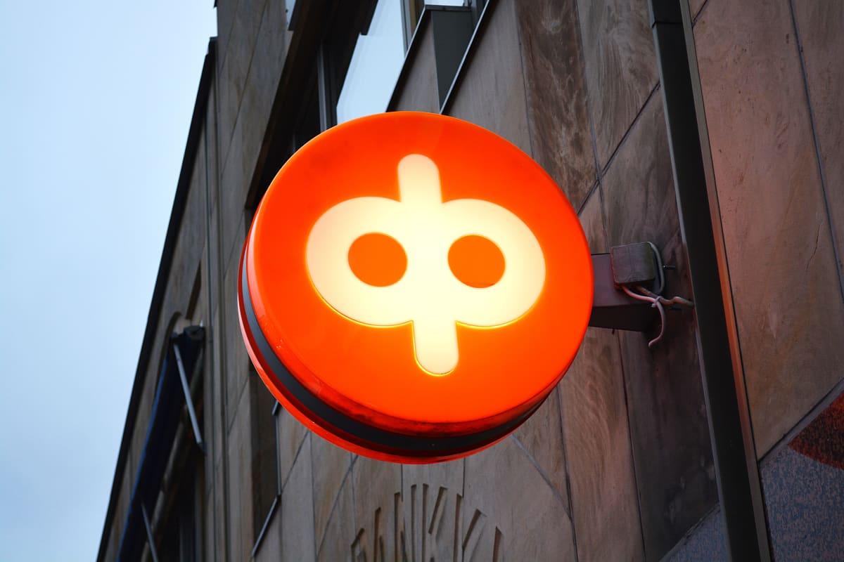 OP-bankens logo.