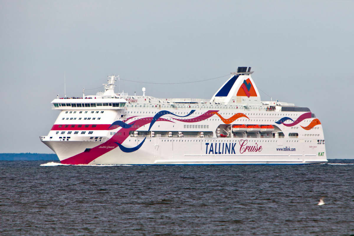 Tallink Silja Baltic Queen.