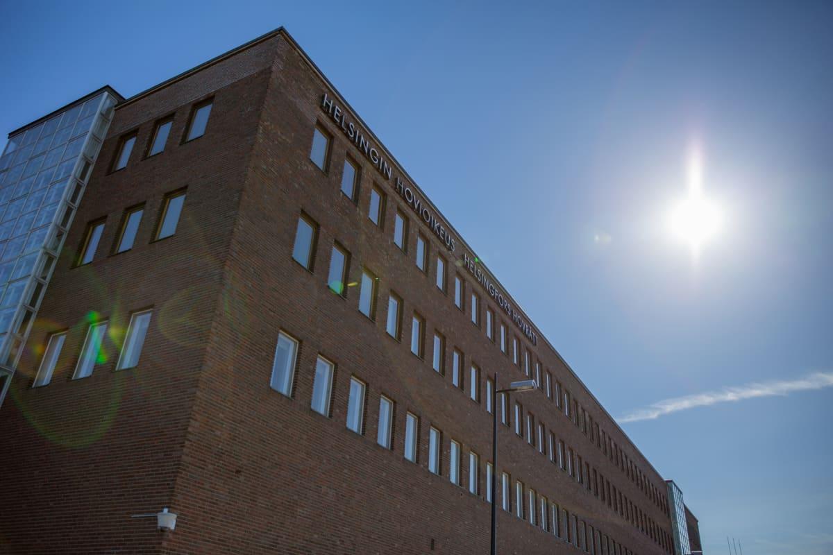 Helsingin hovioikeuden rakennus.