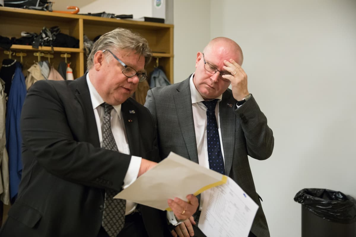 Timo Soini  puolueen puheenjohtaja