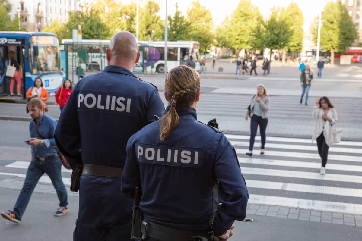 Kiire XL Tuire Joutsenvuo pasilan poliisitalo