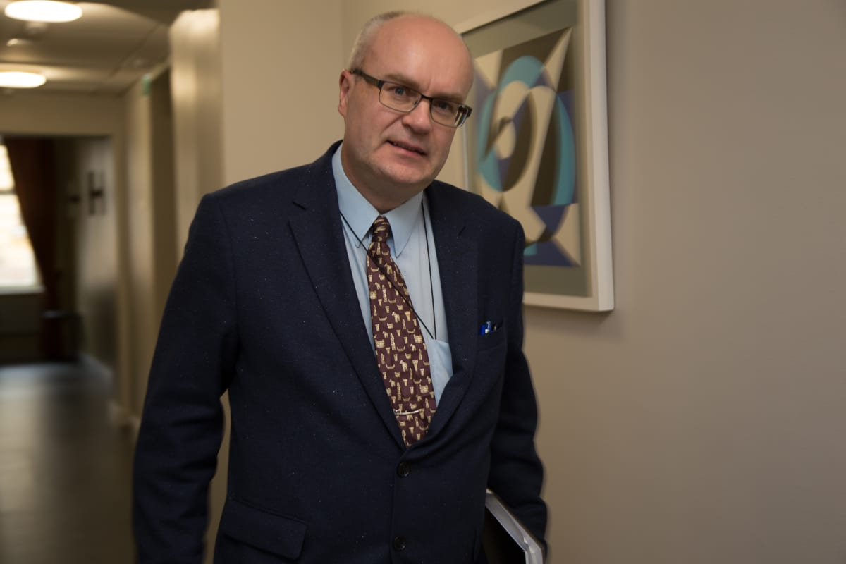 Heikki Räisänen, johtava tutkija, Työ- ja elinkeinoministeriö haastattelussa 14.9.2017