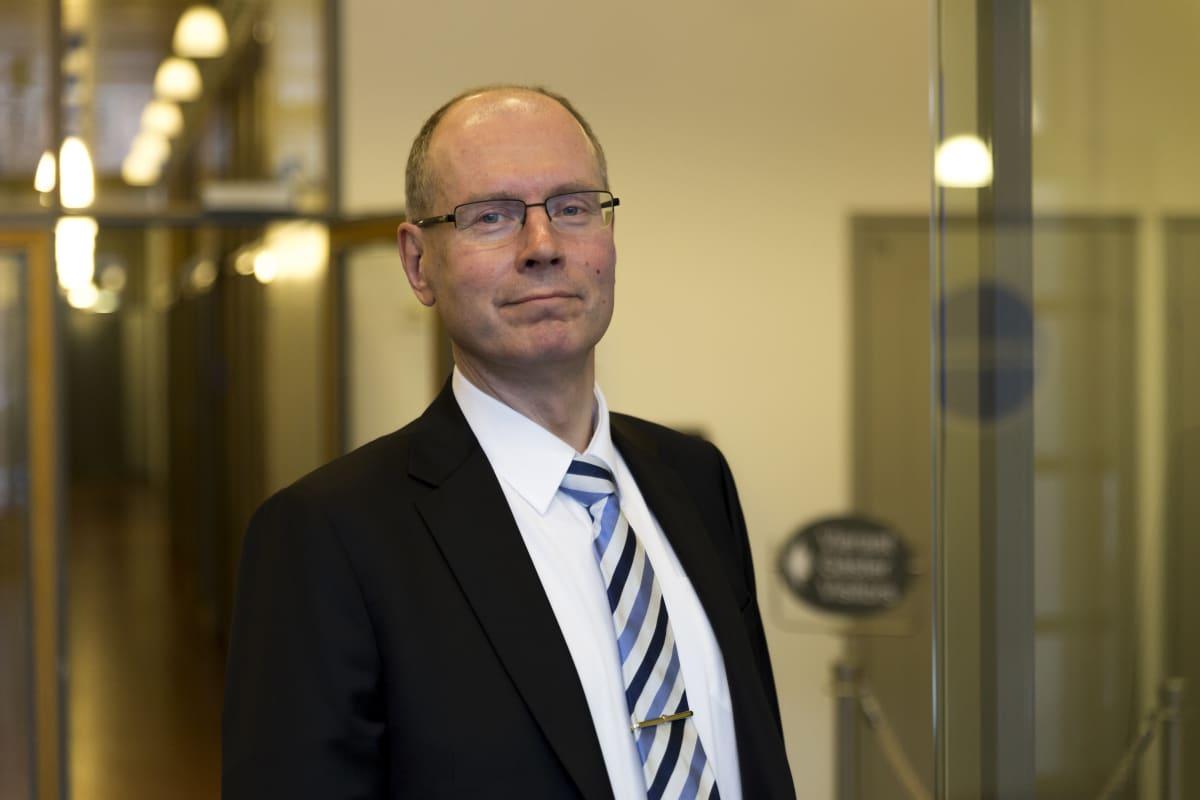 Vaalijohtaja Arto Jääskeläinen, oikeuministeriö.