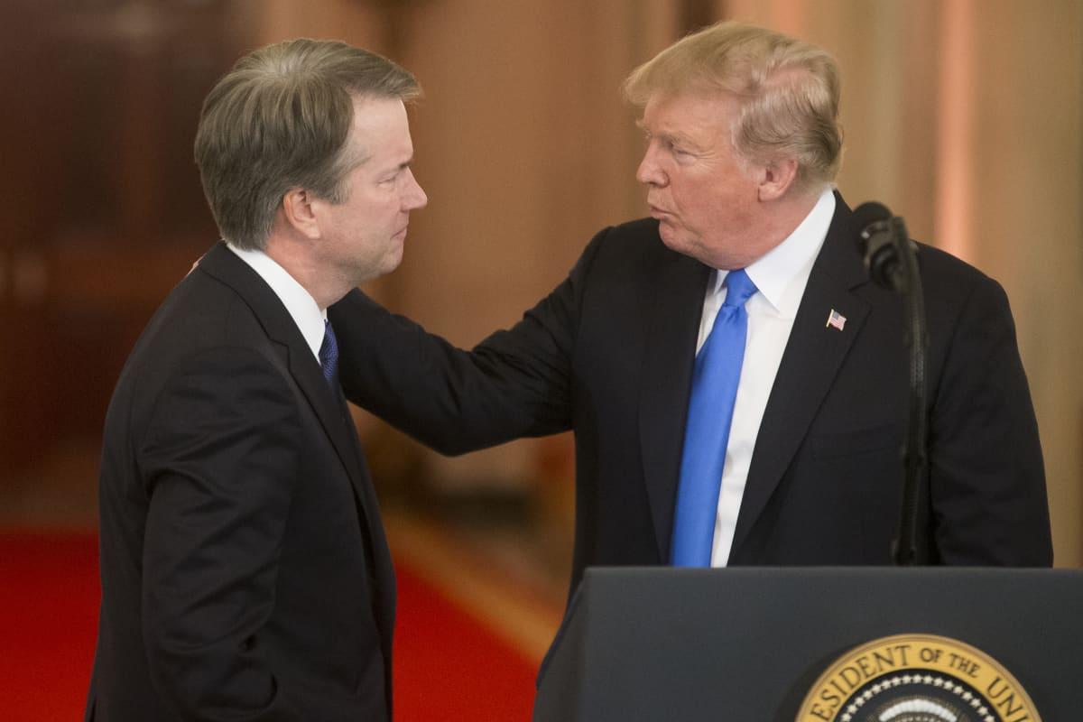 President Donald Trump utnämner Brett Kavanaugh till kandidat för posten som domare i USA:s högsta domstol.