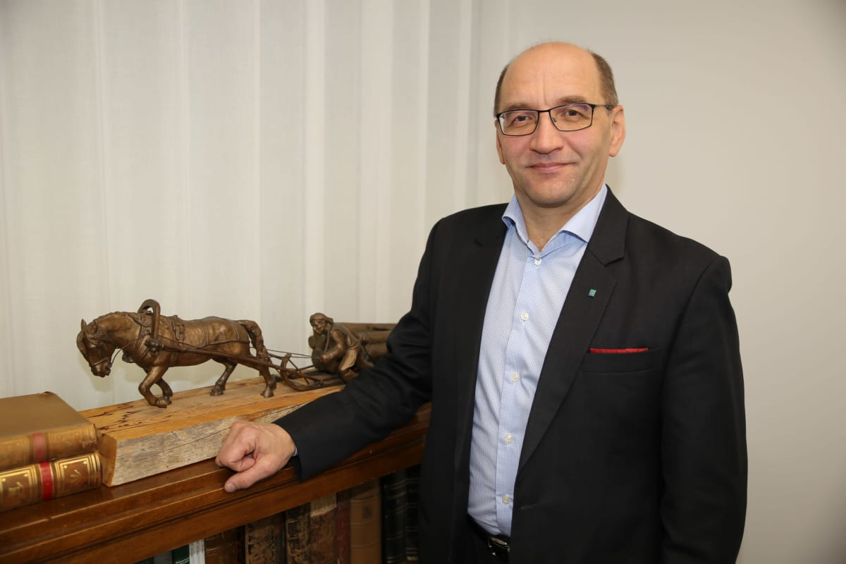 Metsähallitusjohtaja Jussi Kumpula