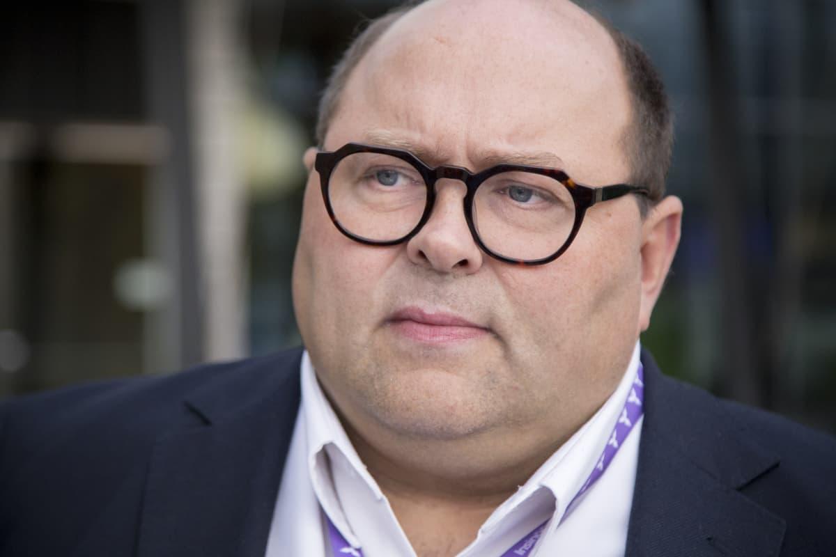Lasse Laurikainen Nokian edustalla.