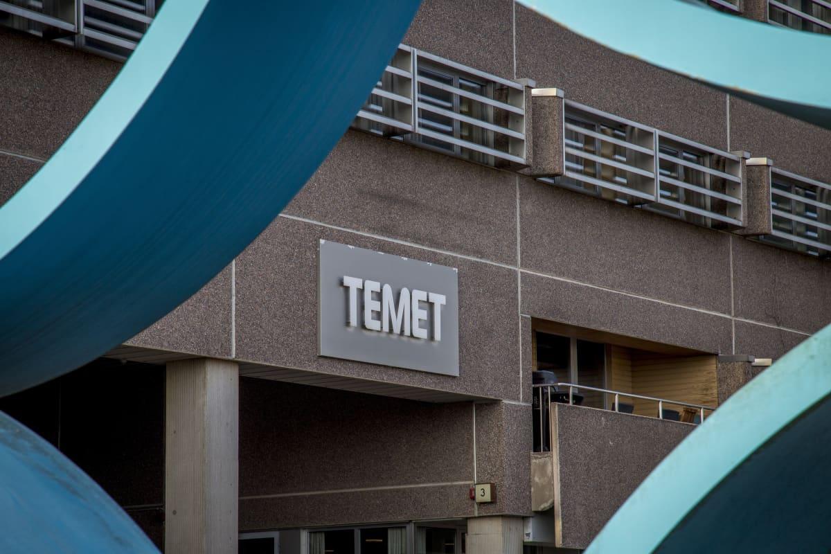 Temet Oy:n toimitilat Helsingissä