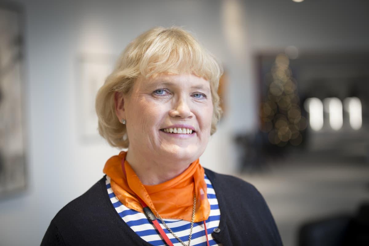 Pääluottamusmies Eija Laurila OP.