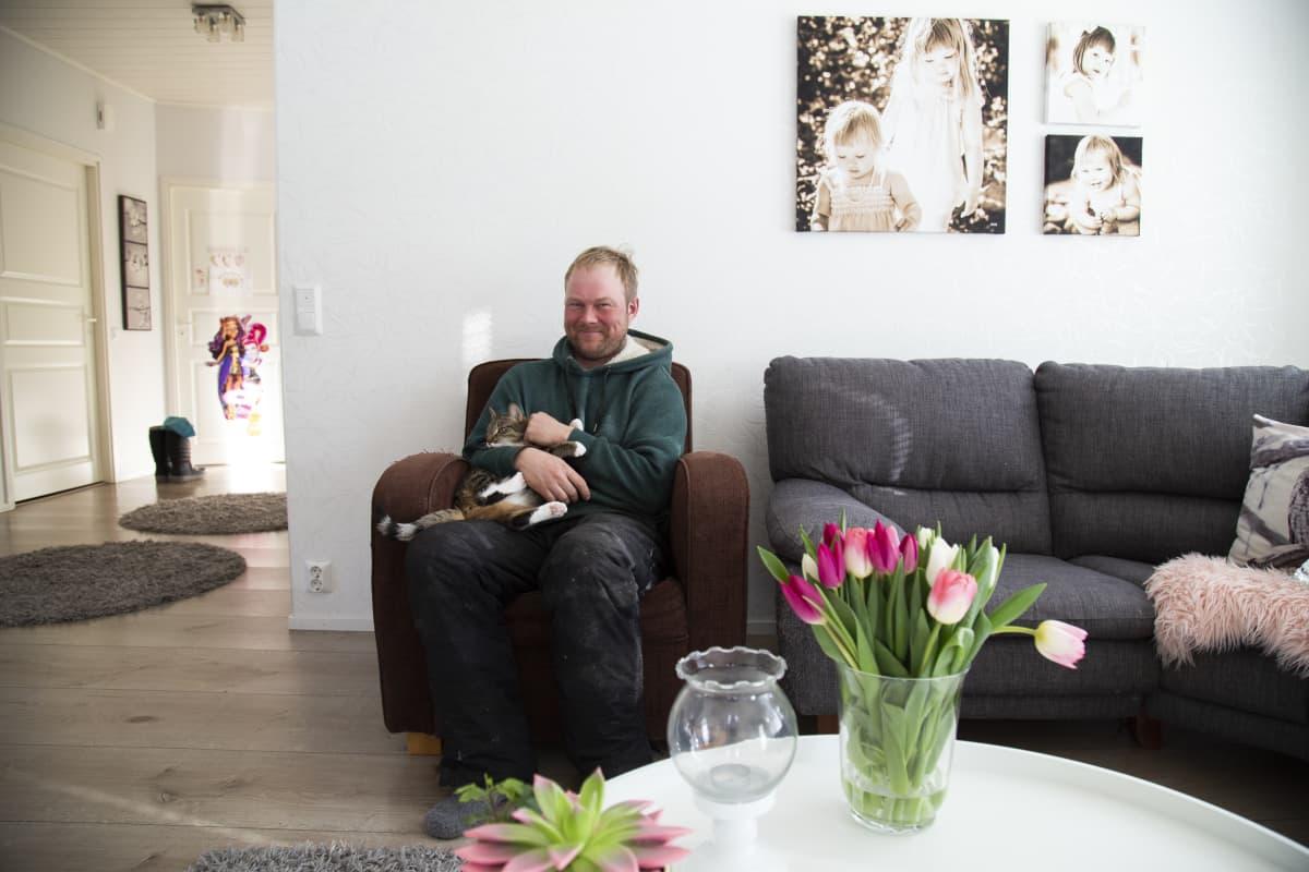 Pekka Rintamaa, kalastaja Lempäälä