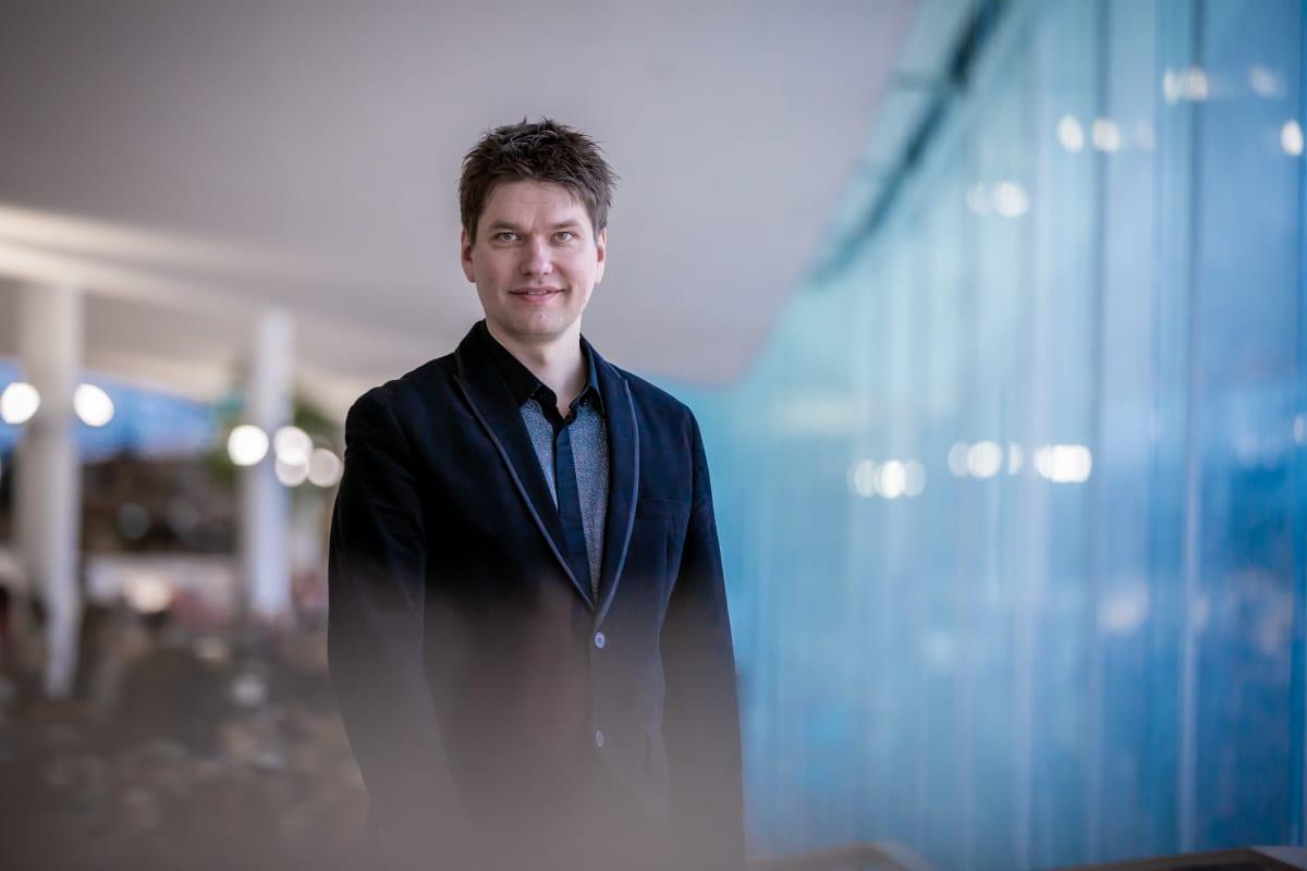 Sellisti Jussi Makkonen, Keskustakirjasto Oodi, 28.2.2019.