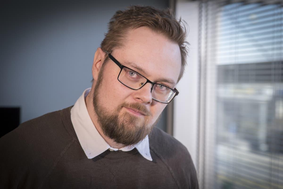 Antti Seppänen kirjastotoimen ylitarkastaja.