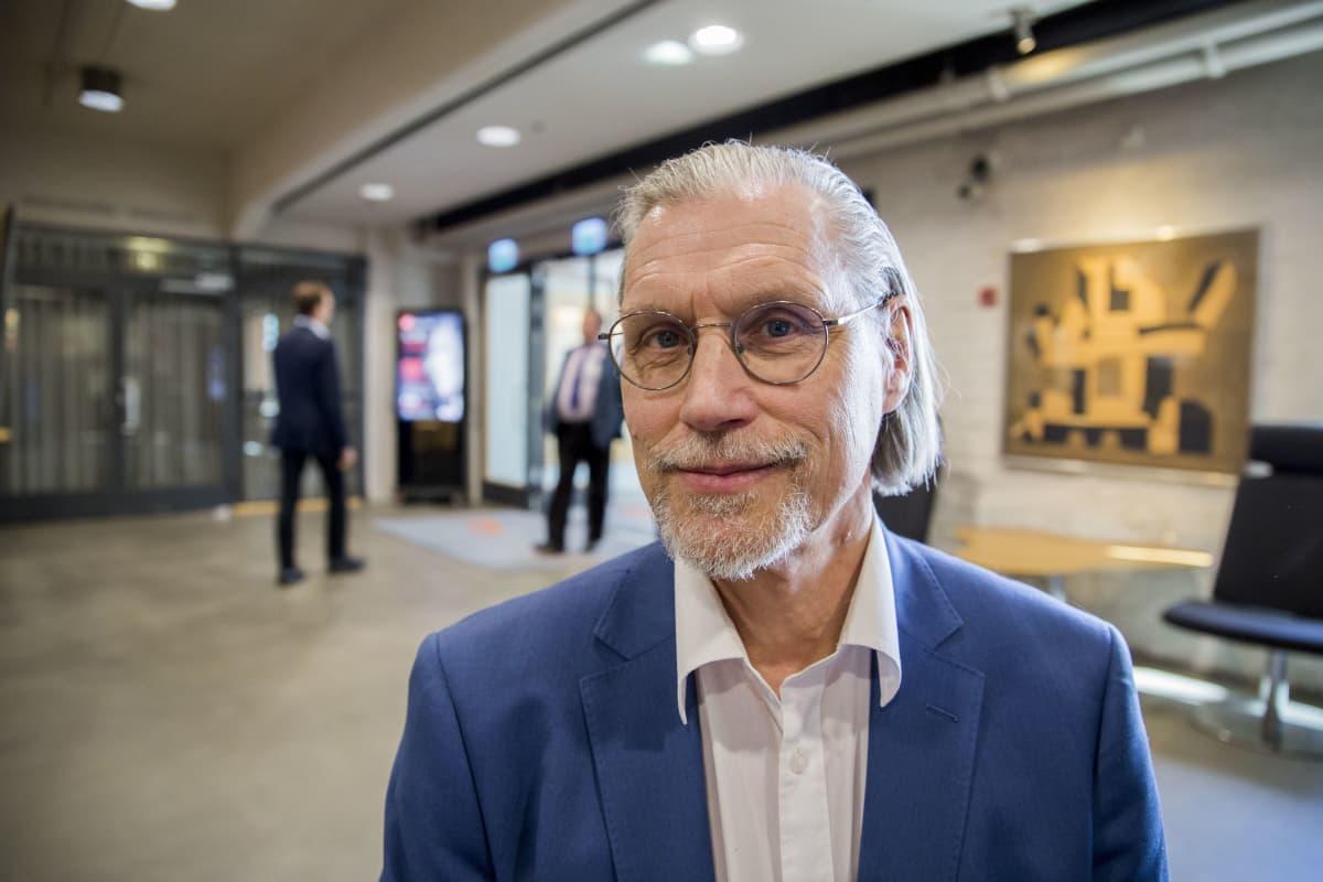 Eero Seesvaara on Lahden Energian toimitusjohtaja.
