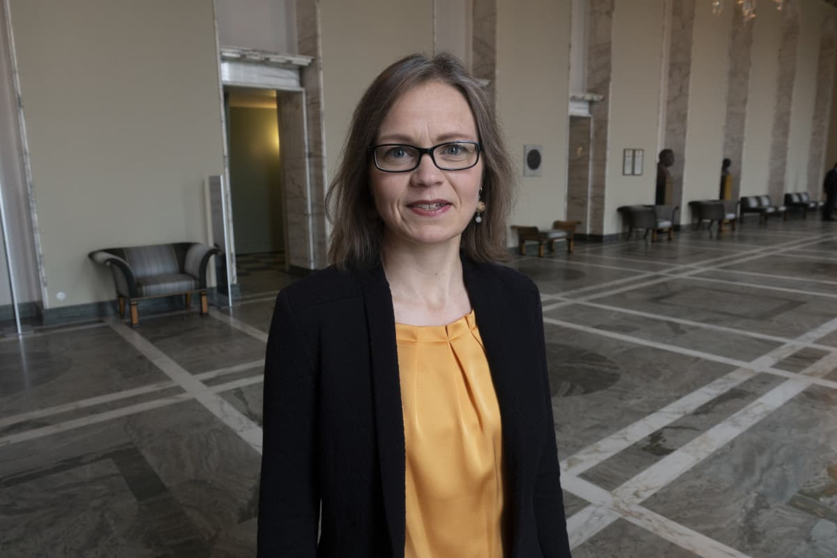 Tiina Elo Vihreiden kansanedustaja