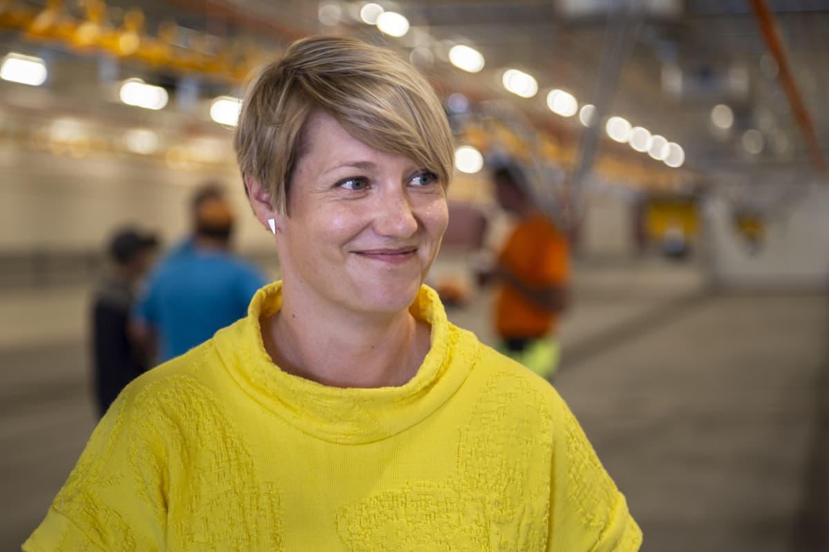 Hanna Hamina, toiminnanjohtaja, Siipikarjaliitto