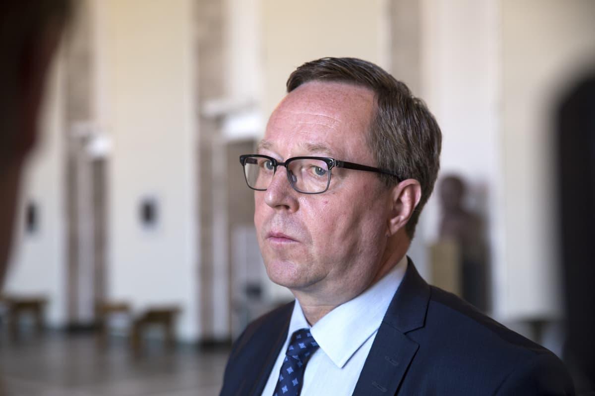 Valtiovarainministeri Mika Lintilä.