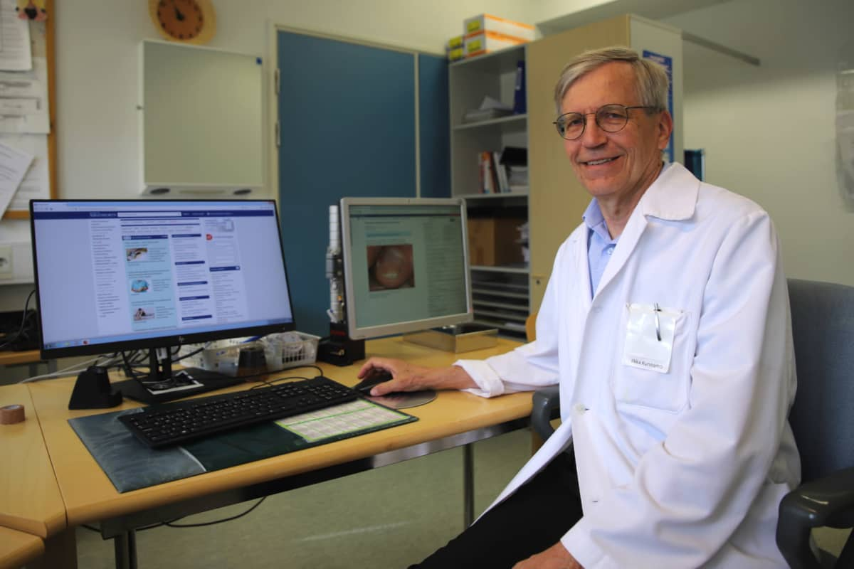 Lääkäri Ilkka Kunnamo.