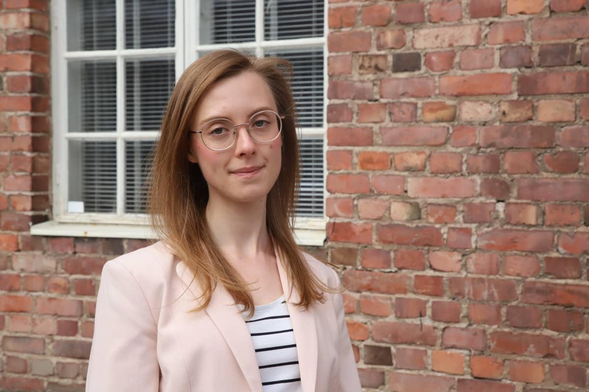 Projektitutkija Katarina Laine Turun yliopistosta