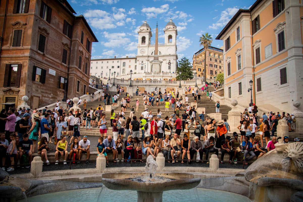 Spanska trappan i Rom