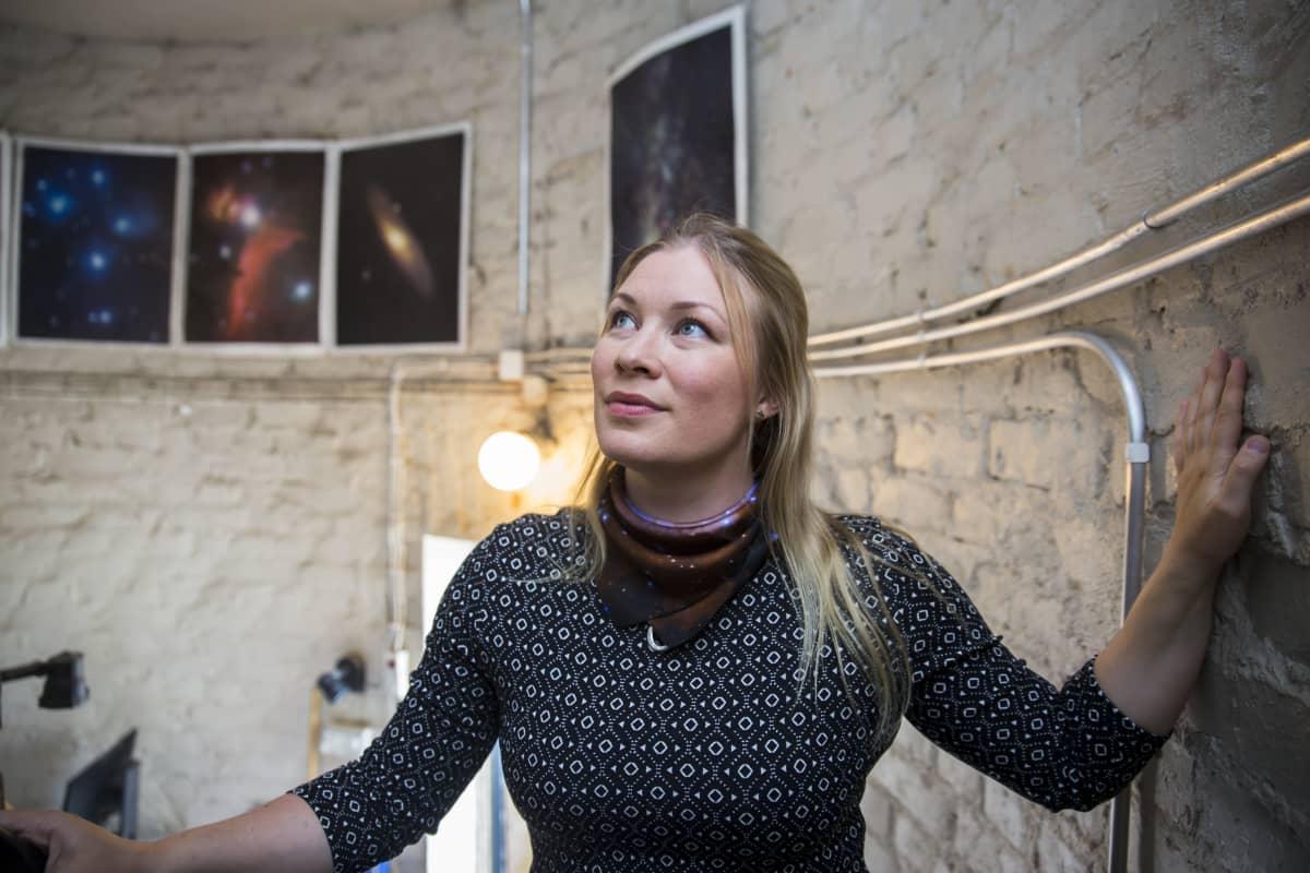 tähtieteilijä-ilmastotutkija Hannakaisa Lindqvist