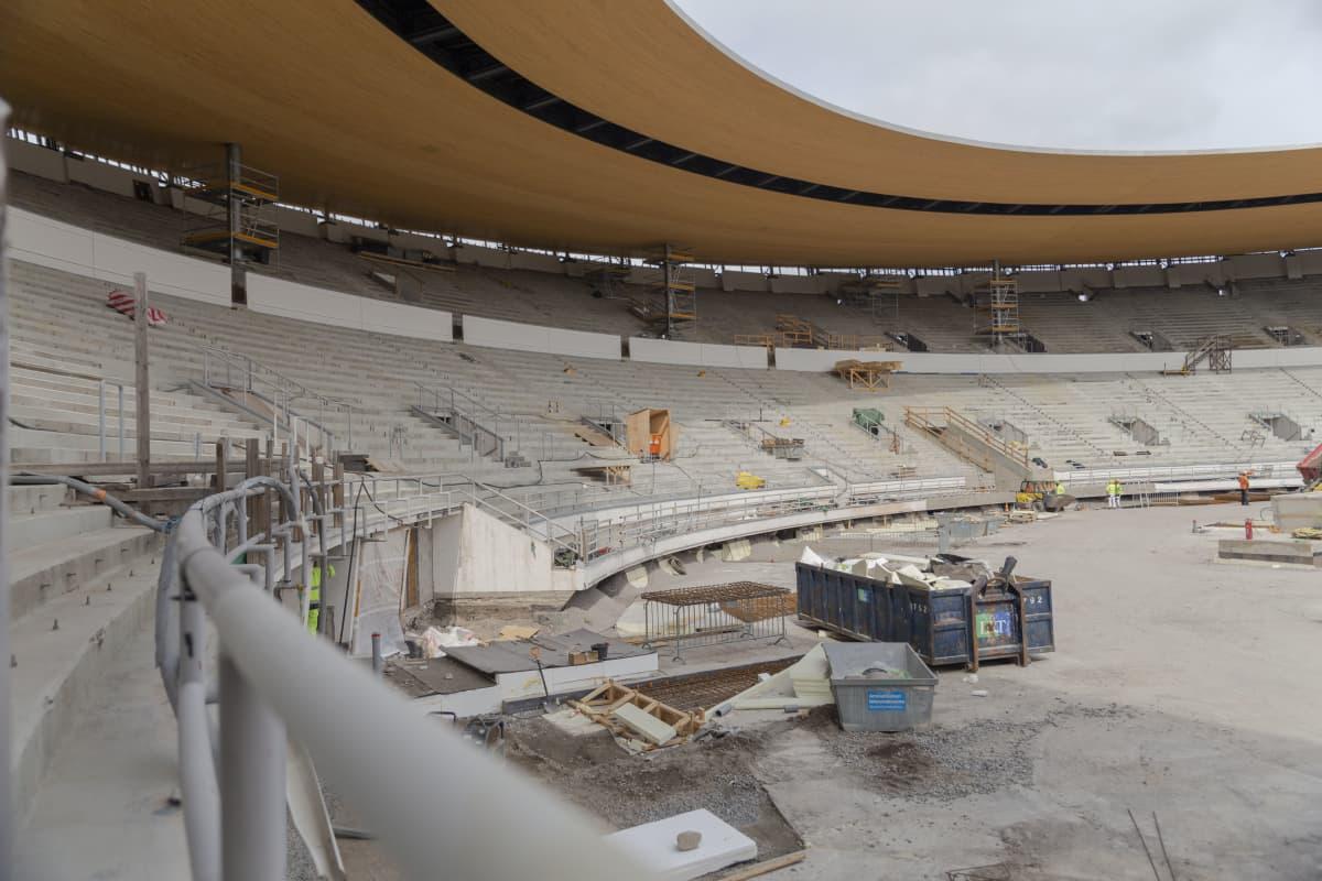 Helsingin olympiastadionin pohjoiskatsomo