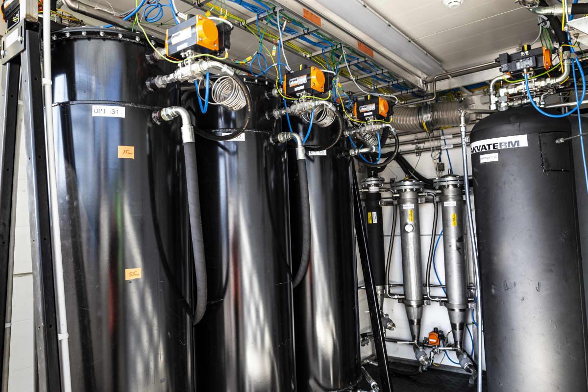 Q Powerin biopolttoaineen koevalmistuslaitos