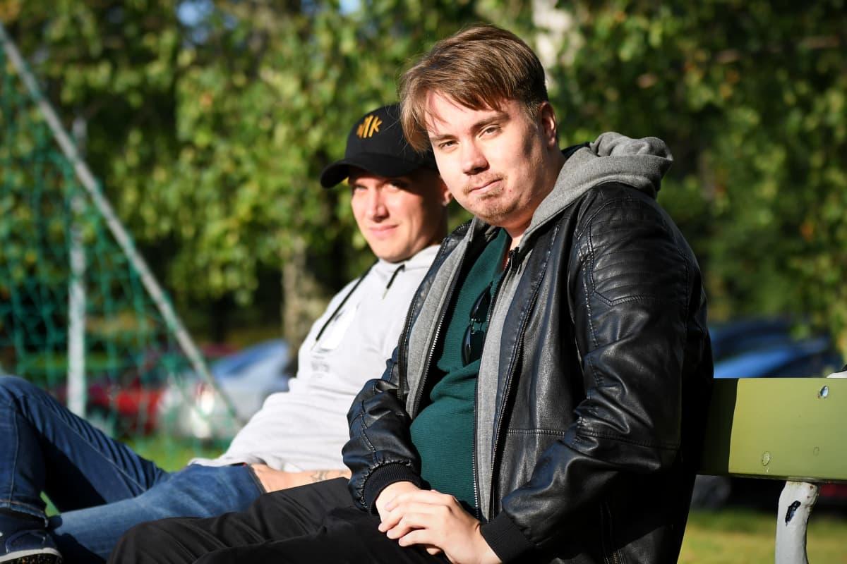 Toni Wistbacka ja Dan Sandberg